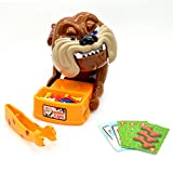 2017 Latest Funny Parent Child Games Beware Of The Dog Don't Wake The Dog Toys, Funny Electronic Pet Dog Toys Bad Dog Gnaw Bones(ABS) by US Buy