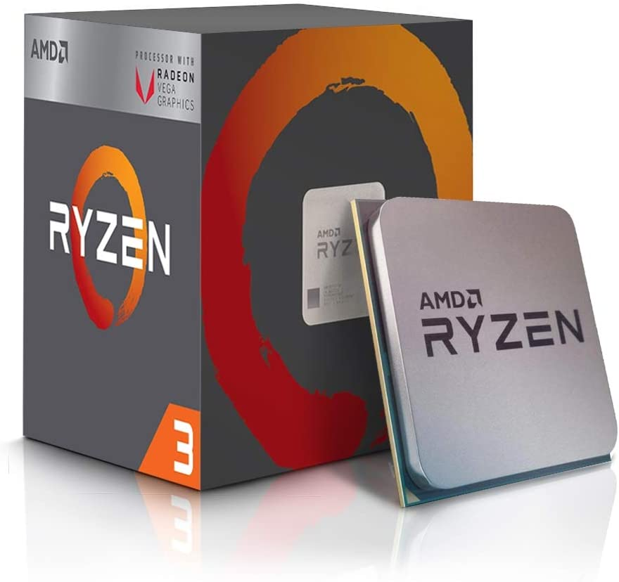 Amd Ryzen Tm 3 2200g With Radeon Tm Rx Vega 8 S Am4 Quad Core 4 Wire 3 5 Ghz Turbo 3 7 Ghz 4 Mb 65 W Cpu Amazon Co Uk Computers Accessories
