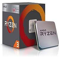 AMD Ryzen TM 3 2200G con RADEON TM RX VEGA 8, S AM4, Quad Core, 4 fili, 3,5 GHz, Turbo 3,7 GHz, 4 MB, 65 W, CPU
