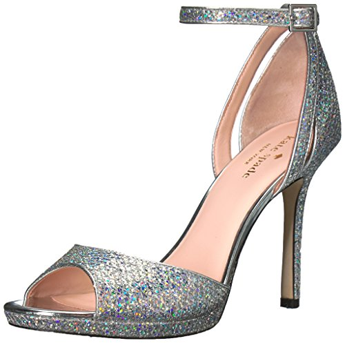 kate spade new york Women's Franklin, Silver, 7.5 M US by kate spade new york
