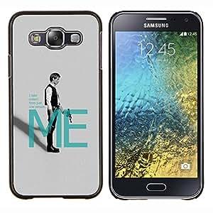 LECELL--Funda protectora / Cubierta / Piel For Samsung Galaxy E5 E500 -- Han Solo Mí --