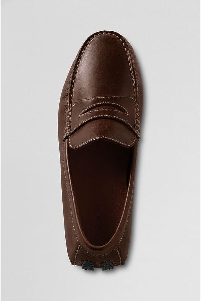 zapatos de conducci/ón transpirables Lapens Mocasines casuales para hombre de piel aut/éntica