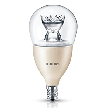 Amazon.com: Philips LED Dimmable A15 Clear Light Bulb: 330-Lumen ...