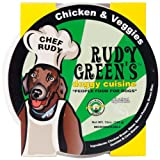 Rudy Greens Doggy Cuisine Chicken and Veggie, 12-Ounce Units (Pack of 8), My Pet Supplies