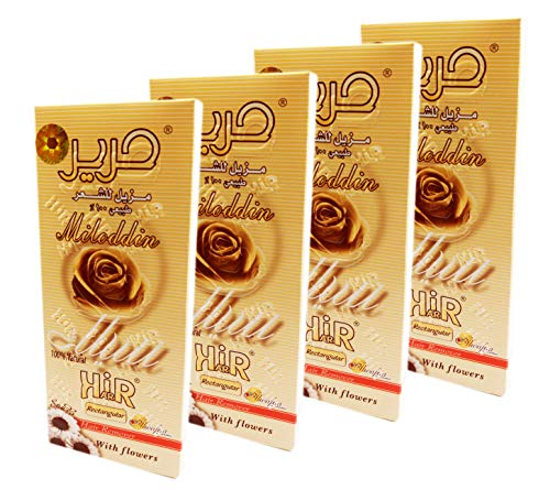 4 X 100 gm Harir Sweet Packets Sugaring Sugar Wax Hair Removal 100% Natural Paste For Bikini, Legs, Arms, Back And Face Body Hair Remove