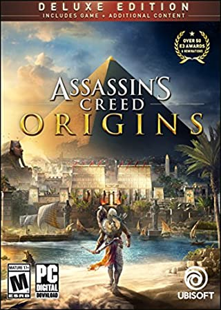 Assassin's Creed Origins Deluxe Edition - PC [Online Game Code]