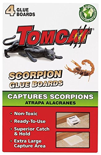 Motomco Tomcat Scorpion Glue Boards, 4-Pack (Not Sold in AK)