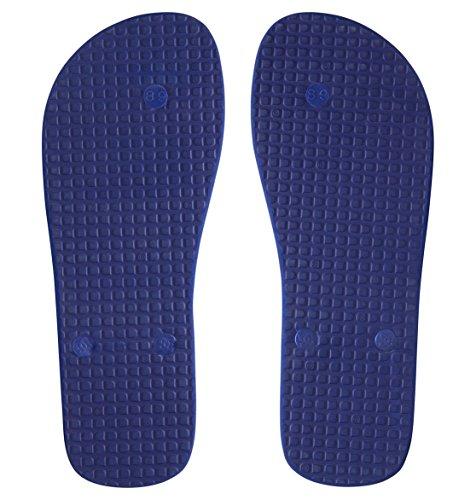 DC Shoes Spray Graffik D0303276 - Chanclas de caucho para hombre Blue/Yellow