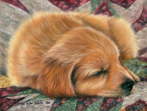 Sunsout All Tuckered Out 500 pc Jigsaw Puzzle