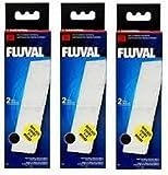 3 x Fluval U3 Poly Carbon Cartridge 2 pack