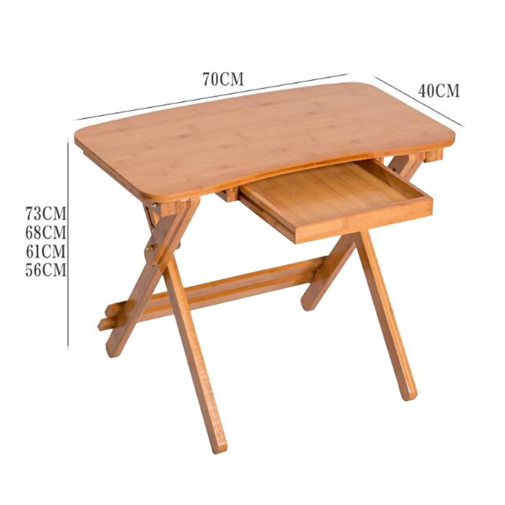 Mesas Mesa Escritura Pupitre Altura Ajustable Plegables Bambú ...