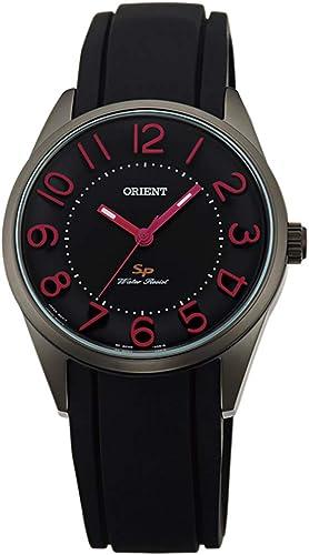 Relógio feminino Orient com pulseira de borracha modelo FQC0R005B0