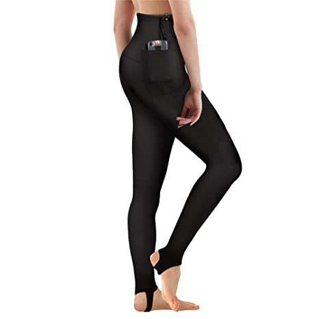 1e28d6349d CtriLady Women s Wetsuit Pants Premium 2mm Neoprene Sauna Leggings for  Workout Swimming Surfing and Snorking (