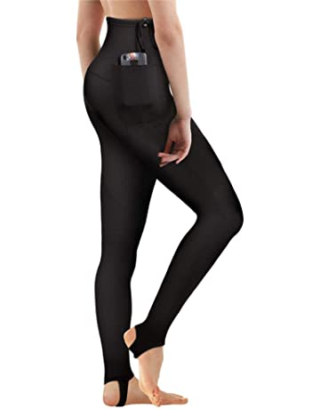 CtriLady Women s Wetsuit Pants 2mm Neoprene Snorking Leggings for Workout  Swimming Surfing Canoeing Diving with Pocket d94ee0aa8