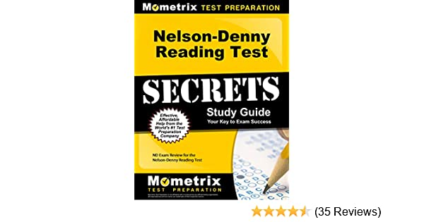 is the nelson denny test hard