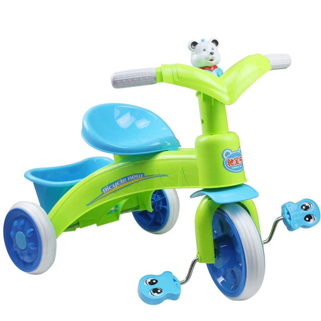 Zhijie-chezi My First Ride Trike First 子供用 子供用 マルチカラー マルチカラー アウトドア ペダルバイク 音楽付き 1~3歳用 B07QGP9S14, 上河内町:bd3d347a --- number-directory.top