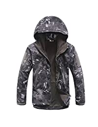 Eglemall Men's Military Hunting Tactical Softshell Outdoor Jackets
