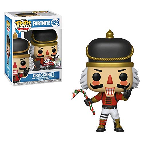 Funko - Fortnite-Crackshot - Figura Decorativa, Multicolor, 34