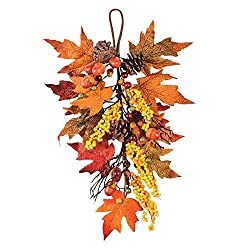 Fall Harvest Swag - Wreaths and Floral Decorations