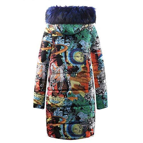 Matelassée À Veste Outwear Dames Florale Capuchon Vintage Femmes Mode Vêtements Manteau Longue Coton Matelassé Kaki Parka Impression Bas Hiver fpwwqCZnX