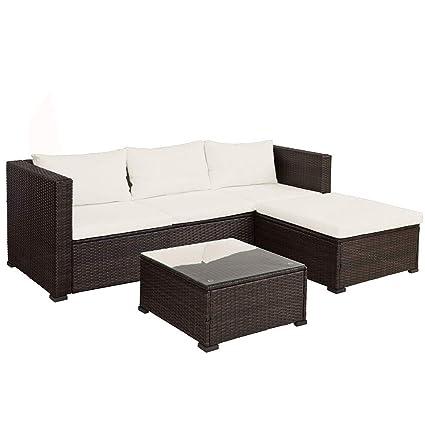 Amazon.com: Teeker - Juego de muebles de jardín de 3 piezas ...