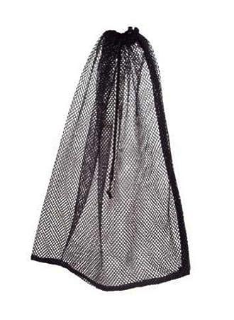 Amazon.com | Mesh Drawstring Black Bag 16 by 22 in | Drawstring Bags