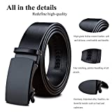 LUCIANO Genuine Leather Belts for Men's Automatic