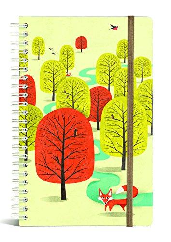 Franklin Mill 1232 Medium Wire Notebook - Ruled Bookjig Combo, White Socks