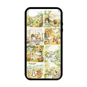 [Accessory] iPhone 6 plus 5.5 Case, [peter rabbit] iPhone 6 plus 5.5 Case Custom Durable Case Cover for iPhone6 plus 5.5s TPU case (Laser Technology)