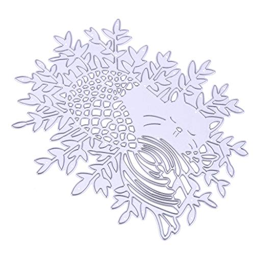 4Pcs NICE Nymph Metal Cutting Dies Stencil for Christmas Scrapbooking-Bird Nest (If There are no Comments, Send 4Pcs Randomly)