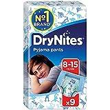 1パック男の子9用の8-15年のDrynites (Huggies) (x 2) - Huggies 8-15 years DryNites for Boys 9 per pack (Pack of 2) [並行輸入品]