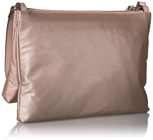Calvin Lucy Top Rose Gold Nylon Crossbody Zip Klein TTqgwrBx6