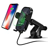 iphone 4 car charger mount - Wireless Car Charger Iphone X, Automatic Induction Car Holder Mount, Fast Wireless Car Charger Air Vent Car Mount for Samsung Galaxy S8 Plus/S8, S7/S7 Edge Note 5, Standard Charge for iPhone X 8/8 Plu