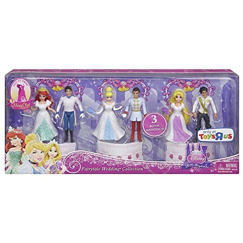 Amazon Disney Princess Fairytale Wedding Collection By Mattel
