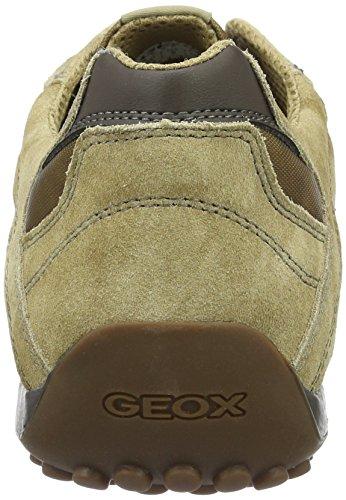 Geox Uomo Snake H, Zapatillas para Hombre Beige (DESERTC5007)