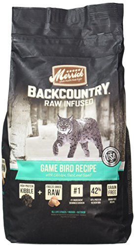 Merrick 1 Count Backcountry Game Bird Recipe, 6 lb