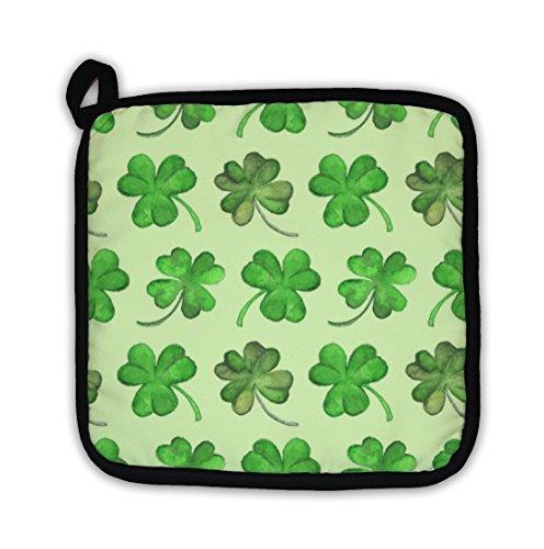 Gear New Watercolor Clover Shamrock Saint Patricks Day Pattern Pot - Womens Throw Gear Express
