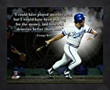 George Brett KC Royals Pro Quotes Framed 8x10 Photo
