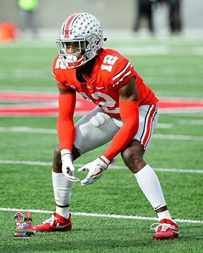 Denzel Ward Ohio State Buckeyes 2017 Action Photo (Size: 11