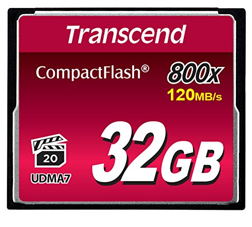 4. Transcend 32GB CompactFlash Memory Card 800x