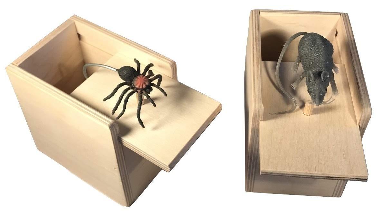 Saving Shepherd Mouse & Spider Surprise Box ~ 2 USA Handmade Fun Prank Gag Gifts by Saving Shepherd (Image #2)