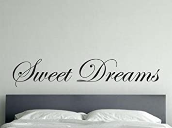 Amazoncom Wall Sticker Quotes Large Size Lettering Words Sweet