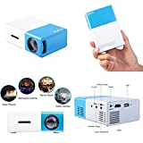 GOOD MEDIA Led Home Theater Mini Projector Wifi Hd Online Tv Movie Games For Android Device ✅