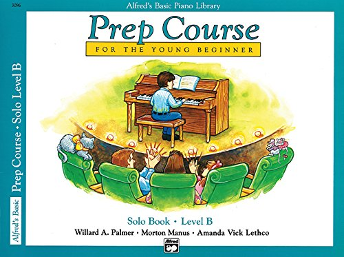 Alfred's Basic Piano Library: Prep Course for The Young Beginner Solo Book, Level B - Antique Vintage Sheet Music
