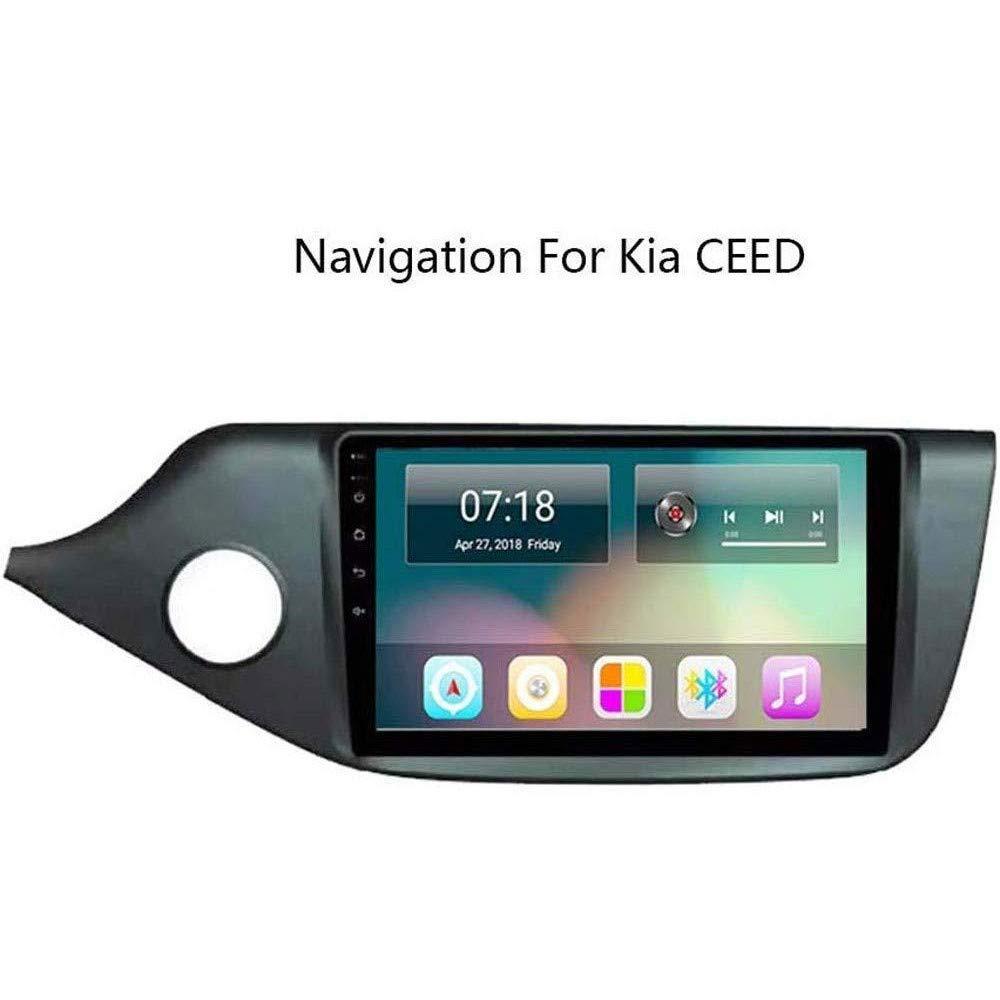 HWENJ Navegaci/ón por Sat/élite Car Stereo Android 8.1 Navegaci/ón GPS para Kia Ceed 2013-2015 9Pantalla T/áctil Completa Reproductor Multimedia Radio Bluetooth Espejo Enlace FM Am Dab USB