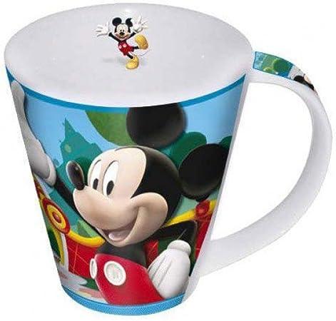 Taza Mickey Mouse en Caja metálica: Amazon.es: Hogar