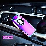 Thunder Lighter Plasma-Feuerzeug, winddicht und per USB wiederaufladbar A-X
