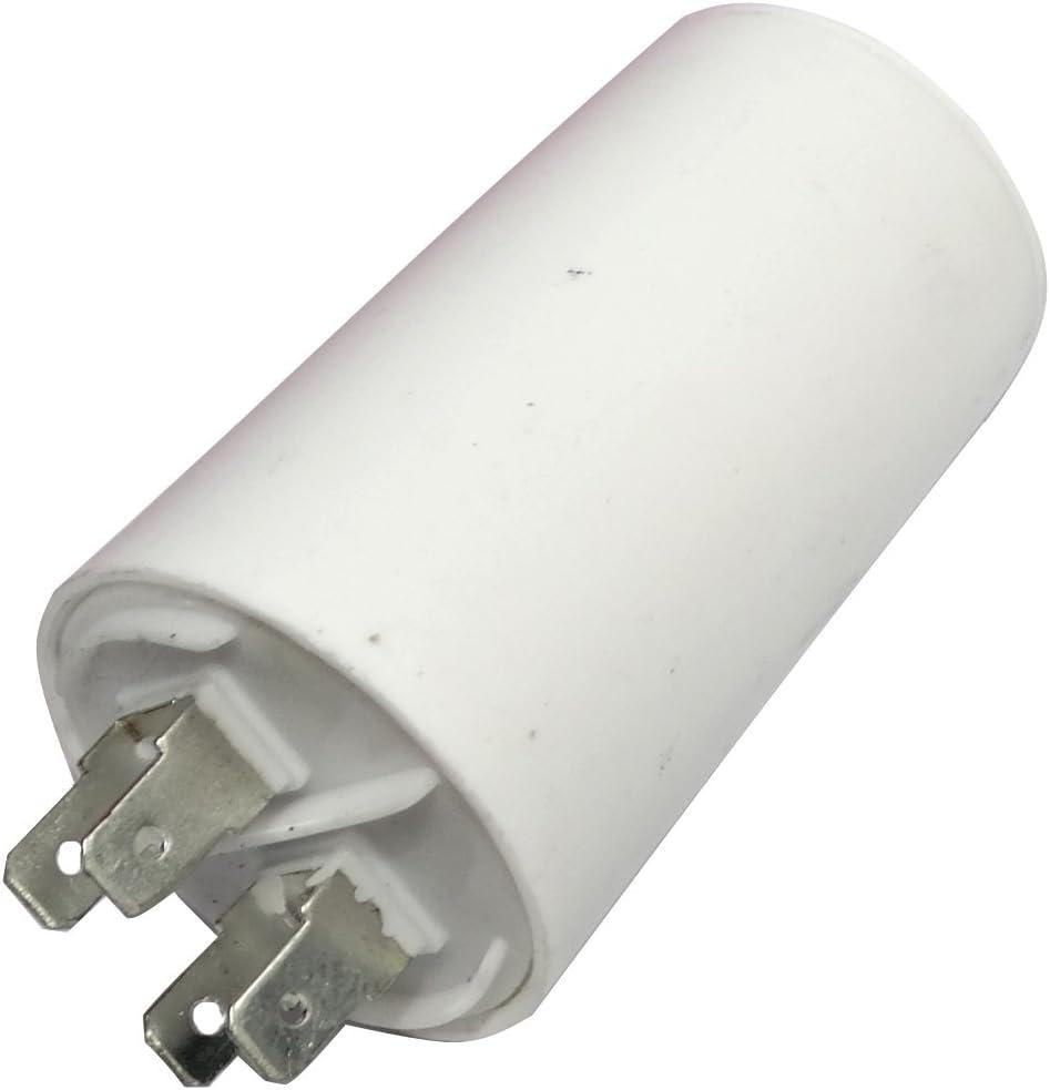 AERZETIX: Condensador permanente para trabajo del motor 16µF 450V con terminales Ø40x70mm ±5% 3000h C18657