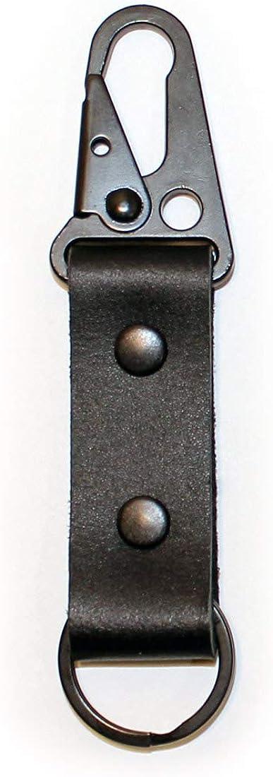 HONGKIT 2 Pack Keychians Handmade Braided Genuine Leather for Women and Man