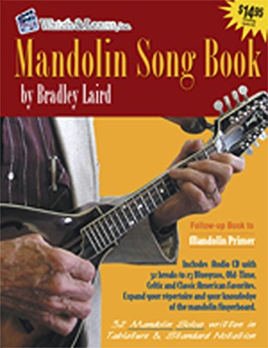 Mandolin Song Book Book/CD [Instant Access]